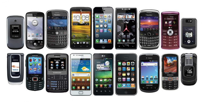 cell phones smartphones