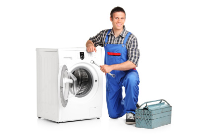 man-fixing-washing-machine-appliance